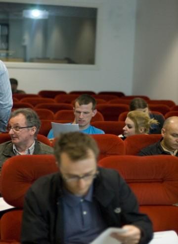 BAFTA's mentoring recruitment evening attendees