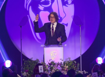 Comedian and actor Alan Davies takes to the stage to host the 2012 Television Craft Awards.