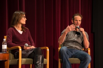 Producer Sarah Aubrey and Director Peter Berg