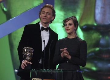 Jessica Brown Findlay and Tom Hiddleston