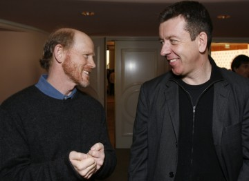 Ron Howard and Peter Morgan