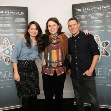 Cristina Costantini, Robbie Barrat and Darren Foster