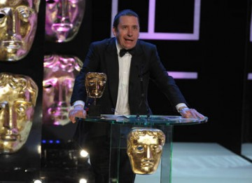 Musician and television presenter Jools Holland announced the Entertainment Performance category (BAFTA / Marc Hoberman).