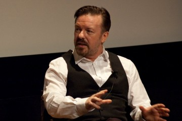 "Ricky Gervais at the Q&A for ""Life's Too Short"