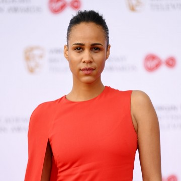Zawe Ashton looking fierce