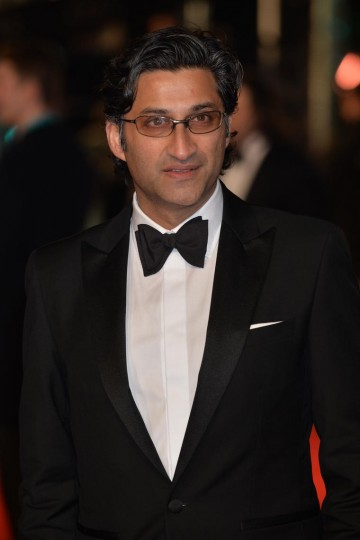 Director Asif Kapadia, nominee for Outstanding British Film arrives on the red carpet