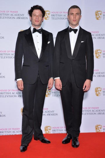 The BAFTA for International in 2015 was presented by James Norton and Tom Hughes to True Detective.