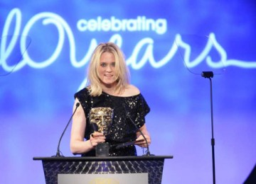 Music critic and radio presenter Edith Bowman announced the hotly contested Break-through Talent Award sponsored by The Farm (BAFTA / Richard Kendal).