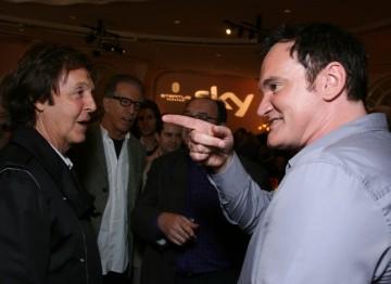 Paul McCartney and Quentin Tarantino