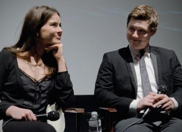 Sophie Winkleman and Noah Reid.