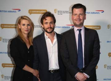 Claire Danes, Hugh Dancy and Luke Parker Bowles.