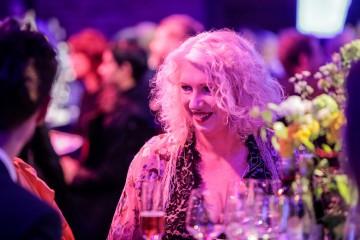 BAFTA Deputy Chair Anne Morrison enjoys the awards