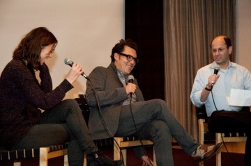 Keira Knightley, Joe Wright and Brian Rose