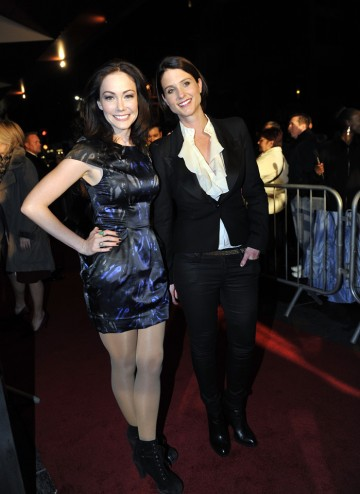 Anna Skellern and Heather Peace