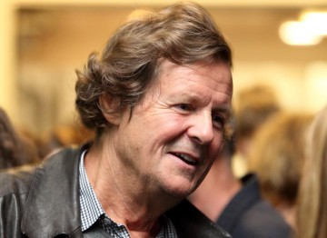 Sir David Hare joins guests after delivering his screenwriter's lecture. (Photography: Jay Brooks)