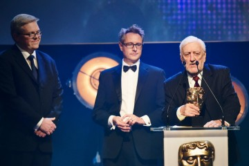 Old Jack's Boat collects the BAFTA for Pre-School Live Action at the British Academy Children's Awards in 2015