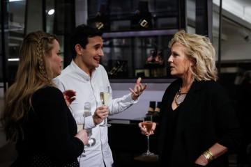 2016 Breakthrough Brit Tim Wicksteed speaking to Jennifer Saunders