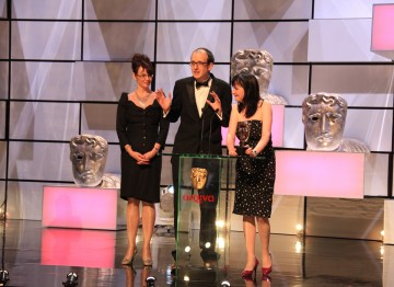 Susan Hogg, Jack Thorne and Caroline Skinner - the winning team behind The Fades.