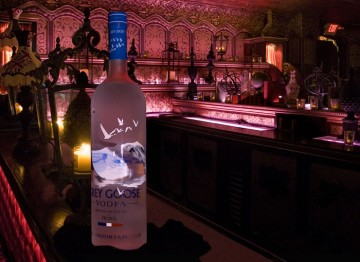 Grey Goose Vodka added an extra kick to the party cocktails