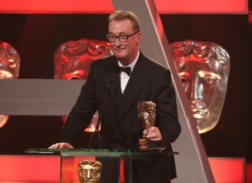 Peter Bennett Jones took to the stage at the British Academy Television Awards to accept the Special Award, presented by BAFTA in recognition of his outstanding contribution the television industry.