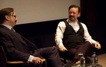 "Q&A with ""Life's Too Short""  Ricky Gervais, moderated by John Hodgman"