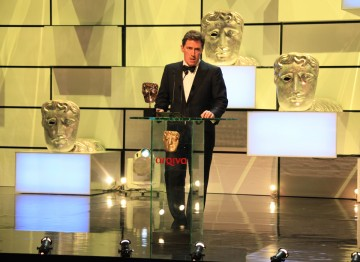 Rob Brydon presents the award for Female Performance in a Comedy Programme.
