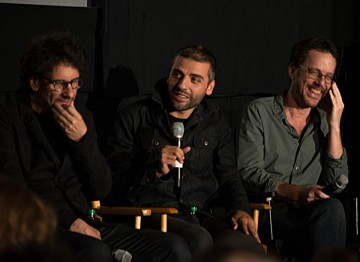 Director Joel Coen, Oscar Isaac and Director Ethan Coen