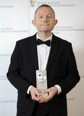 Robert Jones - winner of the Writer Award for _Murder_.