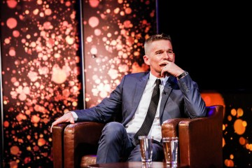Ethan Hawke at his Life in Pictures event