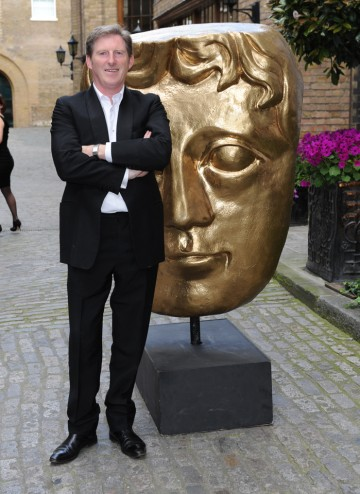 Dunbar, whose acting credits include Hear My Song, Line Of Duty and Good Vibrations, arrives at the Television Craft Awards to present the Special Award to Aidan Farrell.