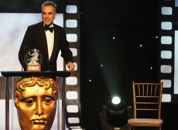 Daniel Day-Lewis at the Britannia Awards.