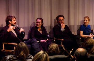 Director-Producer Kathryn Bigelow, Writer-Producer Mark Boal, Jennifer Ehle, Jessica Chastian, and Jason Clarke