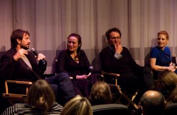 Producer Mark Boal, Jennifer Ehle, Jason Clarke and Jessica Chastain