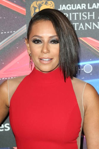 British star and former Spice Girl Mel B ahead of the British Academy Britannia Awards.