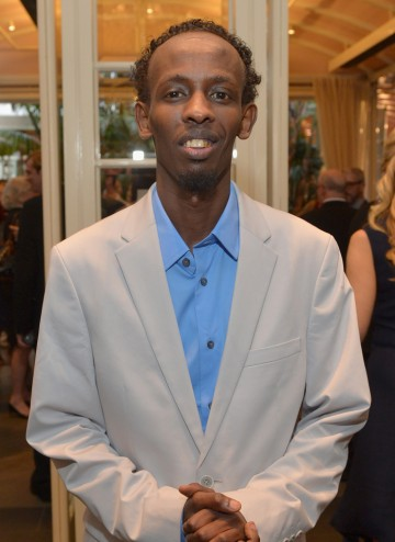 Barkhad Abdi at the BAFTA LA 2014 Awards Season Tea Party.