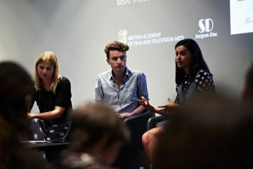 The Sargent-Disc BAFTA Filmmakers Market in 2014