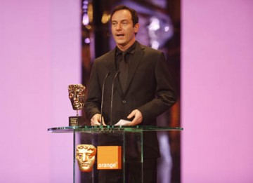 Harry Potter star Jason Isaacs presented the Outstanding British Contribution to Cinema Award in honour of Michael Balcon (BAFTA / Marc Hoberman).