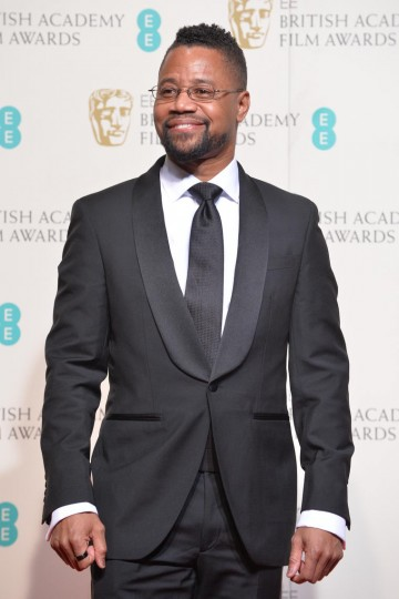 Presenter of the Original Screenplay award: Cuba Gooding Jr.