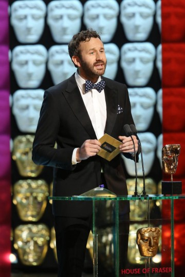 Chris O'Dowd presents the award for Entertainment Programme