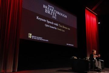 Tim Bevan CBE delivered the 2013 Breakthrough Brits keynote speech
