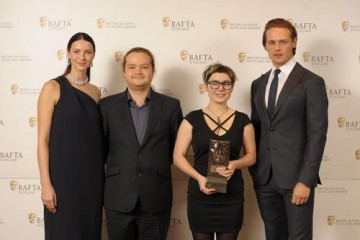 Mihail Ursu & Cat Bruce (Animation) with citation readers Caitriona Balfe & Sam Heughan