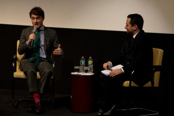 Daniel Radcliffe and Moderator Scott Feinberg