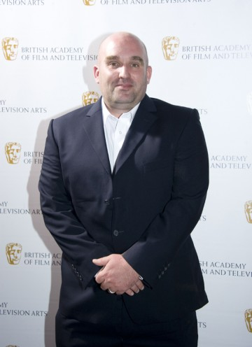 The writer/director is nominated in the Writer category for This Is England '86 tonight. (Pic: BAFTA/Chris Sharp)