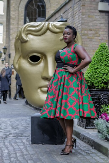 Black Mirror star Wunmi Mosaku arrives