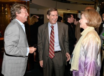 Nigel Lythgoe, Donald Haber and Diane Baker