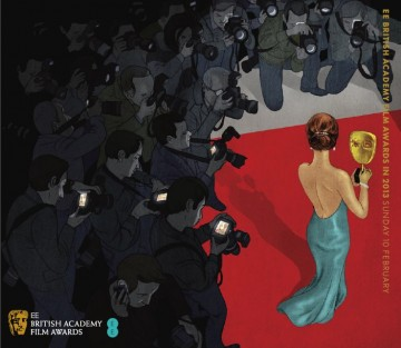 EE British Academy Film Awards Ticket Cover 2013