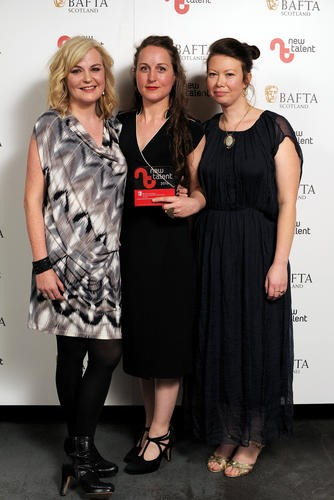 Claire Nicol, Robin Haig & Lindsey McGee - Winners in the Drama Category for 'Hula'