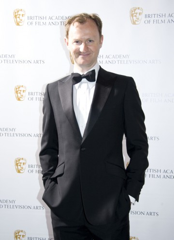 Former League of Gentlemen star Gatiss is one of the writers on Sherlock, nominated in four categories tonight. (Pic: BAFTA/Chris Sharp)