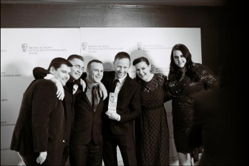 Limmy's Show cast and crew and guest presenter Sharon Rooney