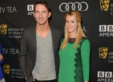 Actor Barry Sloane and Actress Katy O'Grady